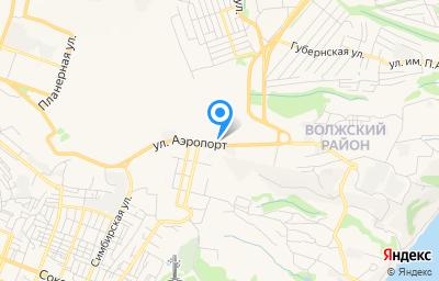 Местоположение на карте пункта техосмотра по адресу г Саратов, ул Аэропорт, влд 50