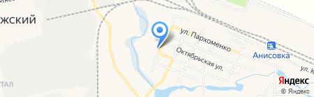 Орион на карте Анисовского