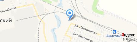 Смп на карте Анисовского
