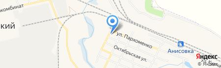 Поликлиника №3 на карте Анисовского