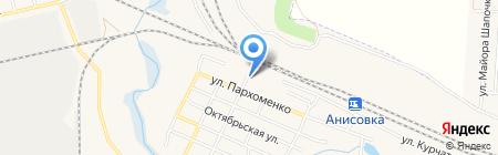Бристоль на карте Анисовского