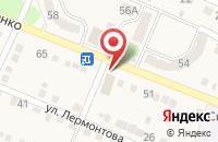 Схема проезда до компании Глория в Анисовском