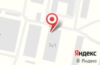 Схема проезда до компании Золотая грива в Дубках
