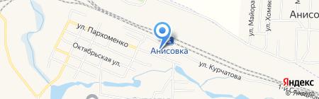 Энгельсские городские электрические сети на карте Анисовского