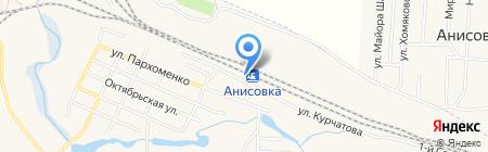 Продукты на карте Анисовского