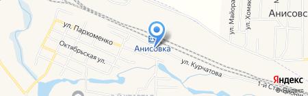 Библиотека №19 на карте Анисовского