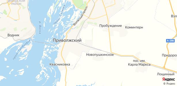 Анисовский на карте