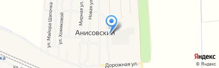 Аэролит Строй на карте Анисовского
