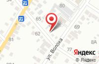 Схема проезда до компании Производственно-Коммерческая Фирма «Корень» в Энгельсе