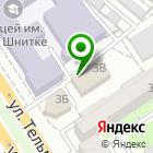 Местоположение компании Заточная студия Виталия Бородина