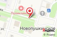 Схема проезда до компании Энгельсская районная больница в Новопушкинском