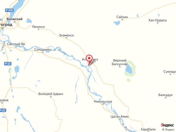 хутор Пшеничный на карте
