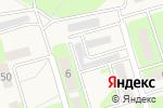 Схема проезда до компании Шиномонтажная мастерская в Пробуждении