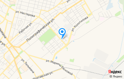 Местоположение на карте пункта техосмотра по адресу Саратовская обл, г Энгельс, ул Нестерова, д 151