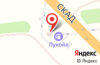 Схема проезда до компании АЗС в Усть-Курдюме