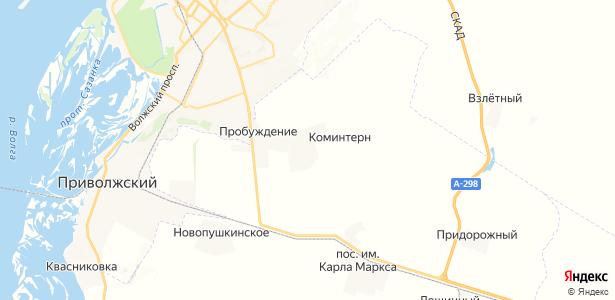 Коминтерн на карте