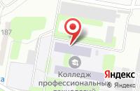 Схема проезда до компании Энгельсский колледж профессиональных технологий в Шумейке