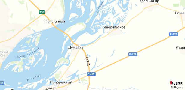 Малая Тополёвка на карте