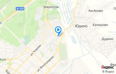 Местоположение на карте пункта техосмотра по адресу Вологодская обл, г Великий Устюг, ул Виноградова, д 101