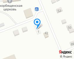 Схема местоположения почтового отделения 429811