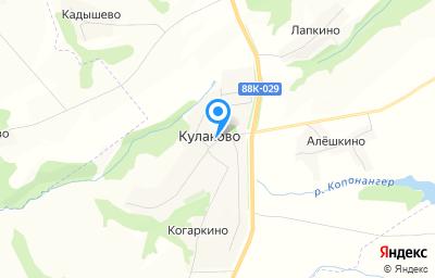 Местоположение на карте пункта техосмотра по адресу Респ Марий Эл, Горномарийский р-н, с Кулаково, д 6