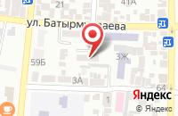 Схема проезда до компании Агробизнес в Хасавюрте