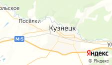 Отели города Кузнецк на карте