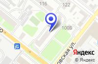 Схема проезда до компании ПТФ ТЕТРА в Кузнецке