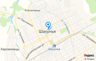 Местоположение на карте пункта техосмотра по адресу Нижегородская обл, г Шахунья, ул Революционная, д 20А, пом 1