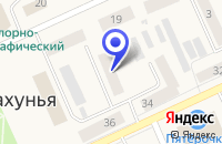 Схема проезда до компании ПОКРОВСКАЯ ЦЕРКОВЬ в Шахунье