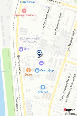 КОТЛАССКИЙ РЕКЛАМНЫЙ ЦЕНТР на карте Котласа