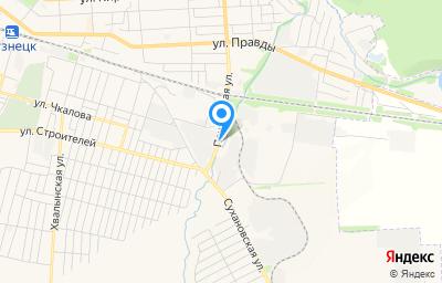 Местоположение на карте пункта техосмотра по адресу Пензенская обл, г Кузнецк, ул Пензенская, д 145Б