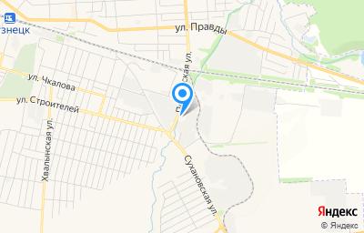 Местоположение на карте пункта техосмотра по адресу Пензенская обл, г Кузнецк, ул Пензенская, зд 145Б