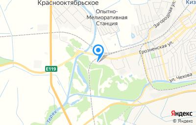 Местоположение на карте пункта техосмотра по адресу Респ Дагестан, г Кизляр, ул Грозненская, д 118Д