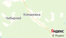 Отели города Комаровка на карте