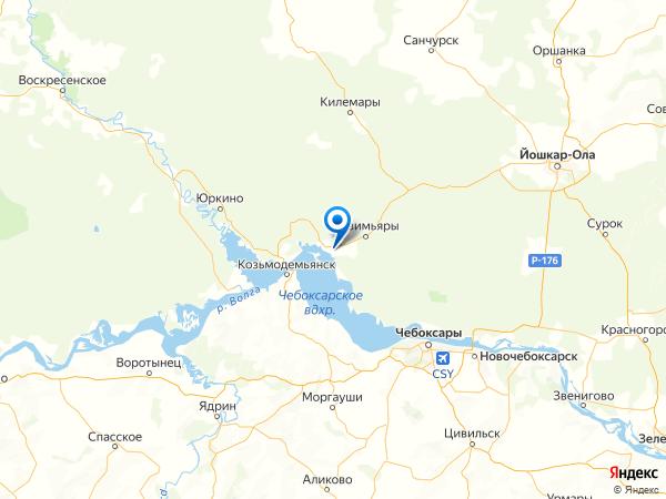 село Арда на карте