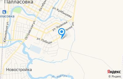 Местоположение на карте пункта техосмотра по адресу Волгоградская обл, г Палласовка, ул Победы, д 31