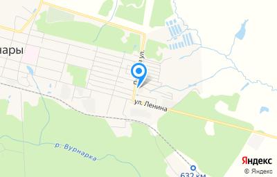 Местоположение на карте пункта техосмотра по адресу Чувашская Республика - Чувашия, пгт Вурнары, ул Луговая, д 8