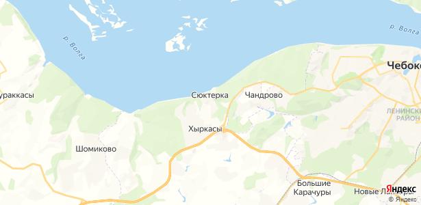 Сюктерка на карте