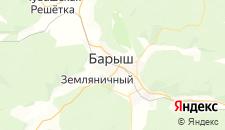 Отели города Барыш на карте