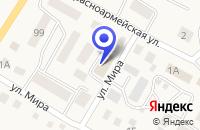 Схема проезда до компании НОВОСПАССКМЕЖРАЙГАЗ в Барыше