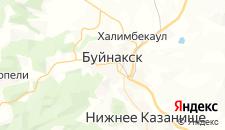 Отели города Буйнакск на карте