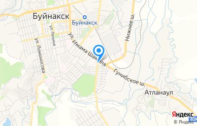 Местоположение на карте пункта техосмотра по адресу Респ Дагестан, Буйнакский р-н, с Нижнее Ишкарты