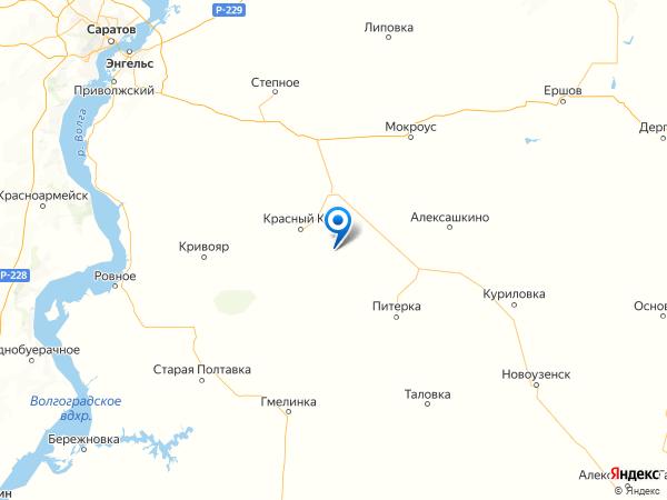 село Журавлевка на карте