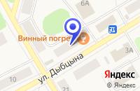 Схема проезда до компании ПАРИКМАХЕРСКАЯ ЧАРОДЕЙКА в Коряжме
