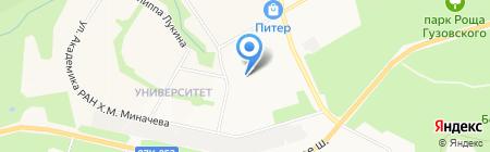 Decora на карте Чебоксар