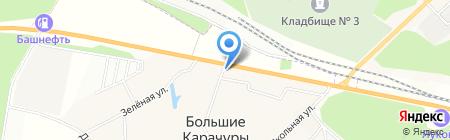 Стройхозтовары на карте Больших Карачуров