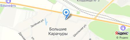 Чебоксарская центральная районная больница на карте Больших Карачуров