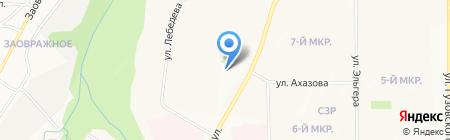 АТР 21 на карте Чебоксар