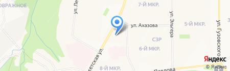 Джинсовая одежда на карте Чебоксар